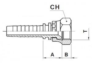 10215-..-.. JIC Perskoppeling