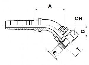 10815-..-.. JIC Perskoppeling