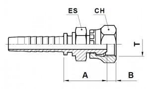 10257-..-.. NPSM Perskoppeling